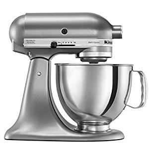 KitchenAid 5 Qt. Artisan Series Stand Mixer Contential Silver RRK150CU (Certified Refurbished)